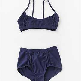 creature of comfort - A Detacher Amanda Swim Top - Navy
