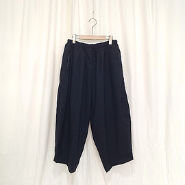 Ordinary fits - Ordinary fits | BALL PANTS summer wool(NAVY)