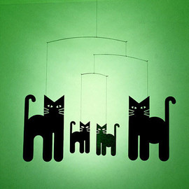 FLENSTED MOBILES - Cats Mobile