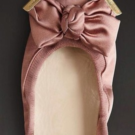 BURBERRY - Satin Ballerina