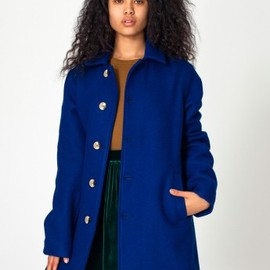 American Apparel - Wool Peacoat (Deep Sea)