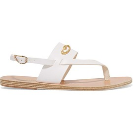 Ancient Greek Sandals - + ilias LALAoUNIS Zoe Snakes embellished leather sandals