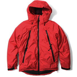 URBAN RESEARCH iD - NANGA × URiD 3Layer Down Blouson (Red)