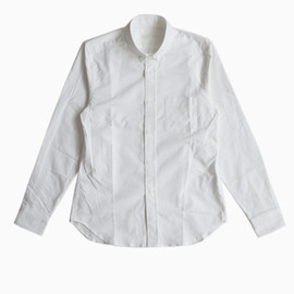 niuhans - Oxford B/D Shirts(White)