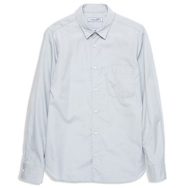 UNIVERSAL PRODUCTS - UNIVERSAL PRODUCTS BROAD REGULAR COLLAR SHIRTS/GRAY
