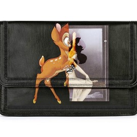 GIVENCHY - Bambi Printed Nappa Clutch Bag
