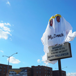 Queens, New York City - Burger King Halloween Costume