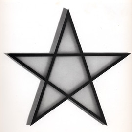 Robert Mapplethorpe - Star with Frosted Glass