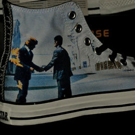 CONVERSE - Converse Pink Floyd Wish You Were Here Rare Chuck Taylor Limited Edition