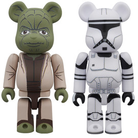 MEDICOM TOY - BE@RBRICK STAR WARS(TM) 2 PACK YODA(EP2) & CLONE TROOPER™ (EP2)