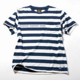NEIGHBORHOOD × fragment design - BORDER Pocket T