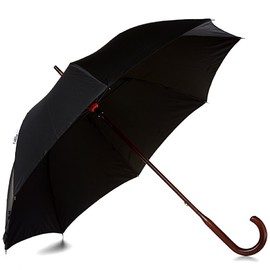 London Undercover - Classic Double Layer Umbrella - Black/Black Houndstooth