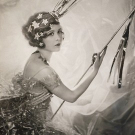 Cecil Beaton's sister, Nancy as a shooting star.
