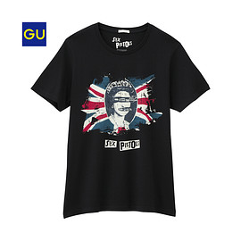 GU - グラフィックT GOD SAVE THE QUEEN