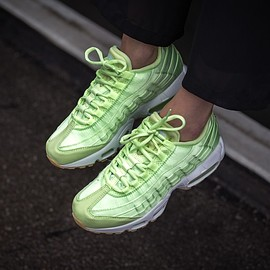 nike - WMNS AIR MAX 95 WQS Light Liquid Lime/Light Liquid Lime-White