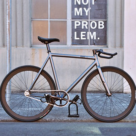 Leader Bike - Leader Bike x PEDAL Consumption   The Kagero Fixed Gear Frameset