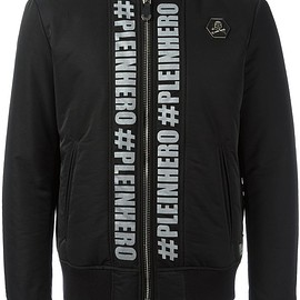 Philipp Plein - You Are The Hero ボンバージャケット
