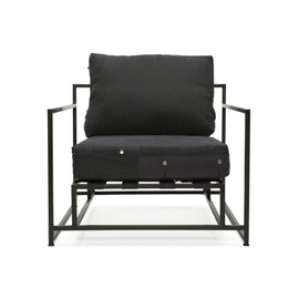 stephen kenn - INHERITANCE ARMCHAIR - BLACK