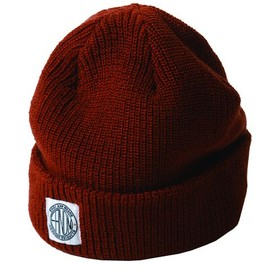 ENDS and MEANS - Watch Cap -  Red Brown