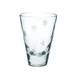 THE CONRAN SHOP - STAR CUT SHOT GLASS 50ML CLEAR