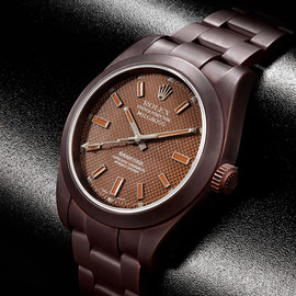 ROLEX - BAMFORD WATCH DEPARTMENT INTRODUCES TITANIUM COATING IN HERITAGE COCOA COLOR OPTION