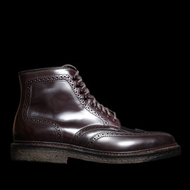 ALDEN - Armstrong Cordovan Wingtip Boot in Color 8