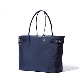 "HEAD PORTER - ""LX"" TOTE BAG (M) NAVY"