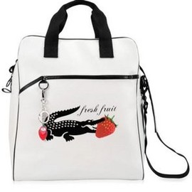 """LACOSTE - Special edition """"fresh fruit"""" bag white"""