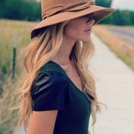 Top off your look with a hat.