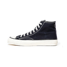 nonnative - DWELLER TRAINER HI COTTON BAFU CLOTH WITH GORE-TEX® 2L
