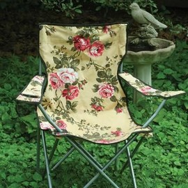 victorian trading co , chintz Glamping Chair