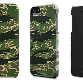 incase - incase × HUF iPhone 5/5s Snap Case Tiger Camo