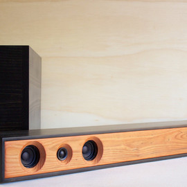 SalvageAudio - Sound Bar 2.1 Powered Home Theater System