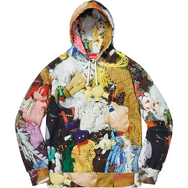Supreme - Mike Kelley More Love Hours Than Can Ever Be Repaid Hooded Sweatshirt