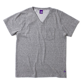 THE NORTH FACE PURPLE LABEL - COOLMAX® H/S V-Neck Tee