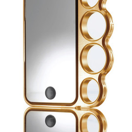 Knuckle Case - Knucklecase - warm gold for iPhone