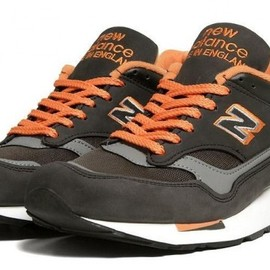 New Balance - New Balance 1500 Made in England - Grey/Orange (Fall 2012)