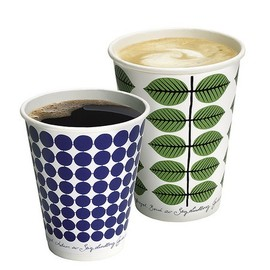 McDonald × Stig Lindberg - coffee cup at McDonald's Sweden