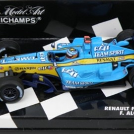 MINICHAMPS - RENAULT F1 TEAM R25 F.ALONSO 2005 1/43