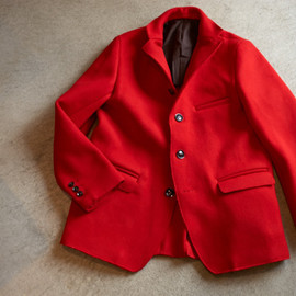 Quilp - CAVALRY TWILL JACKET - Red