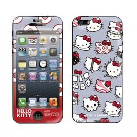 HELLO KITTY meets muta (ハローキティミーツムータ), Gizmobies - ALL GRAY【iPhone5専用Gizmobies】