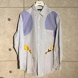 COMME des GARCONS HOMME PLUS - カーブ期 フラワープリント ブラウス