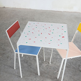 muller van severen - table s, 2013 + first chair, 2012