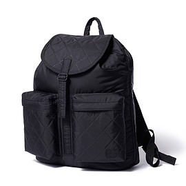 "HEAD PORTER - ""HEXHAM"" RUCKSACK BLACK"