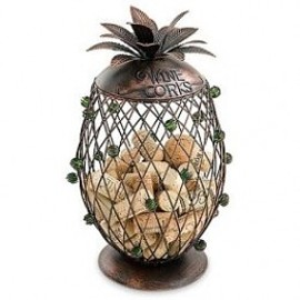 Cork Storage - Wine Pineapple Cork Storage