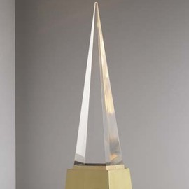 "GABRIELLA CRESPI - ""Pyramid"" table lamp"