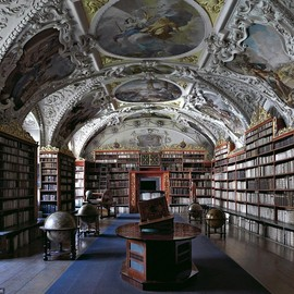 Austria - Kresmunster Abbey Library