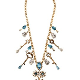 DOLCE&GABBANA - FW2014 KEY CHARMS NECKLACE
