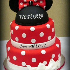 Cake Theater - Minnie Mouse Cake