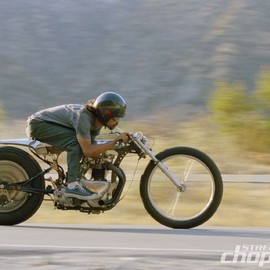 Shinya Kimura - 1957 Triumph 650 custom – The Needle